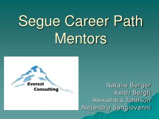 Segue Career Path Mentors