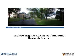 Princeton University HPCRC