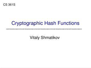 Vitaly Shmatikov