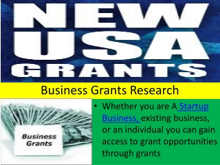 Business Grants Research