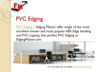 PVC Lipping and Furniture Fittings Service in Malaysia