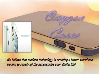 Oxygen-cases of iPhone 4 Bumper