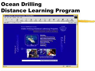 Ocean Drilling