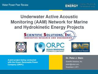 Water Power Peer Review