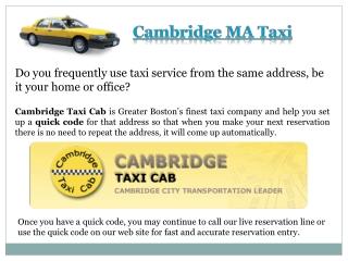 Taxicambridge