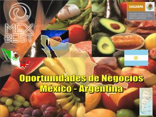 Oportunidades de NegociosMéxico - Argentina
