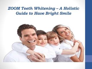 Free Teeth Whitening in Shelby – ZOOM Procedure