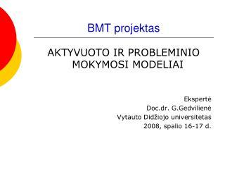BMT projektas