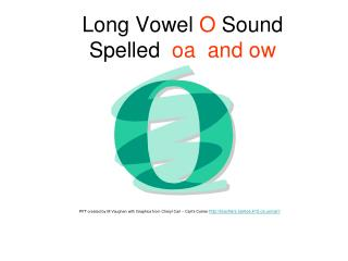Long Vowel O Sound