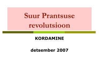 Suur Prantsuse revolutsioon
