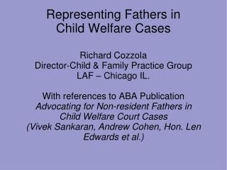 Representing Fathers in