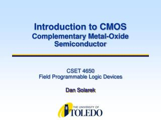 CSET 4650 