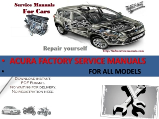 Acura Service Manual Download