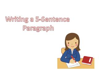 Writing a 5-Sentence 