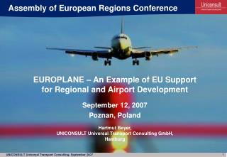 Assembly of European Regions Conference