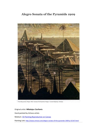 Alegro Sonata of the Pyramids 1909--Artisoo