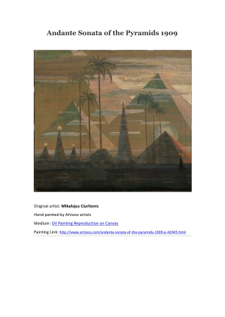 Andante Sonata of the Pyramids 1909--Artisoo