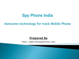 Spy phone Pune, Spy mobile an excellent software of tracking