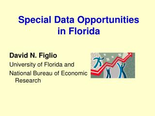 Special Data Opportunities  in Florida