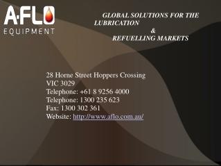 Oil Equipments- A-Flo Equipment
