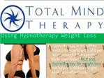 Using Hypnotherapy Weight Loss