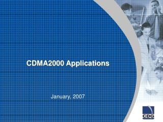 CDMA2000 Applications January