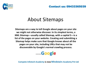 How to Create XML Sitemap