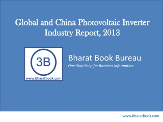 Global and China Photovoltaic Inverter Industry Report, 2013