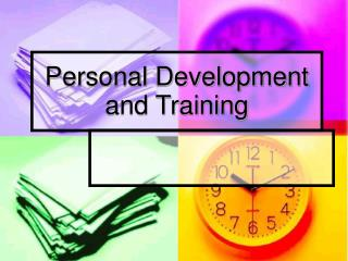 Personal Development and Training
