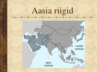 aasia riigid