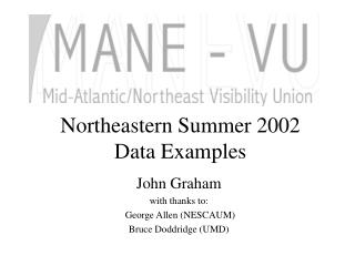 Northeastern Summer 2002 
