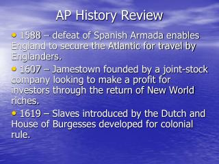 AP History Review