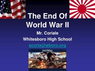 The End Of 