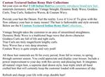 Custom Textured Indian Remy Hair Collections