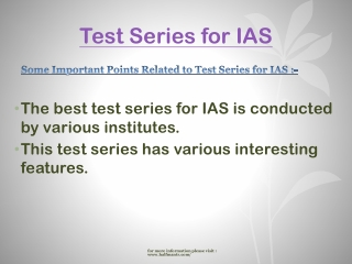 Halfmantr provide free Test Series for IAS