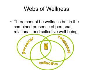 Webs of Wellness