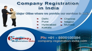 Company Incorporation | CompanyRegistrationIndia.co.in