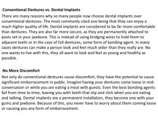 Las Vegas Dental Implants