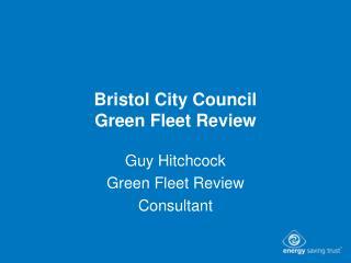Bristol City Council Green Fleet Review
