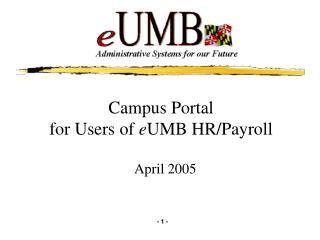 Campus Portal 