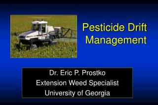 Pesticide Drift  Management