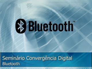 Semin�rio Converg�ncia Digital