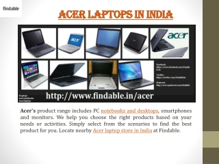 Buy Acer Laptops at best price in India