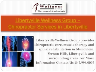 Libertyville Wellness Group – Chiropractor Services in Liber