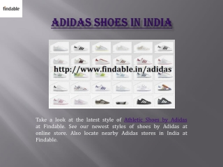 Buy Adidas Shoes in India