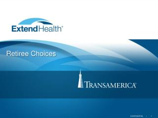 Retiree Choices