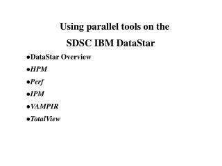 DataStar Overview