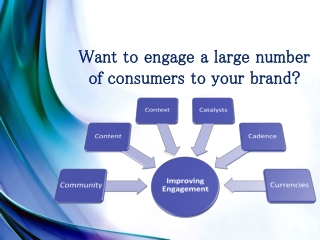 Kantar Media - Want to engage a large number of consumers t