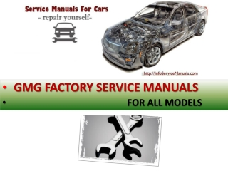 GMG workshop repair manual