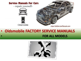 Oldsmobile service repair manual